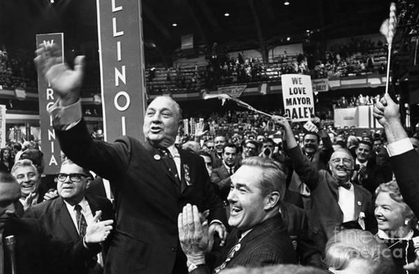 Delegation Photograph - Richard J. Daley (1902-1976) by Granger