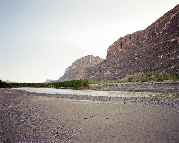 Photograph - Rio Grand River Big Bend Park by M K Miller