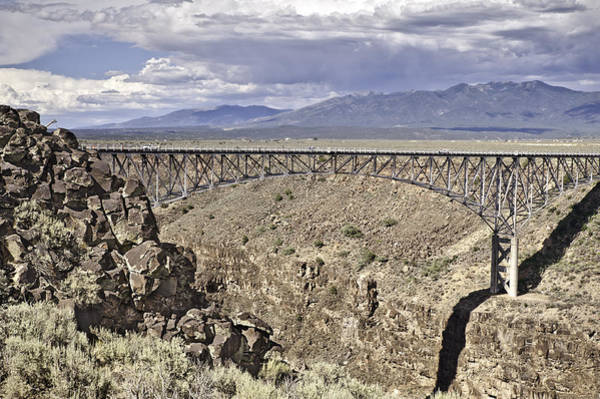 Photograph - Rio Grande Gorge Bridge by Melany Sarafis