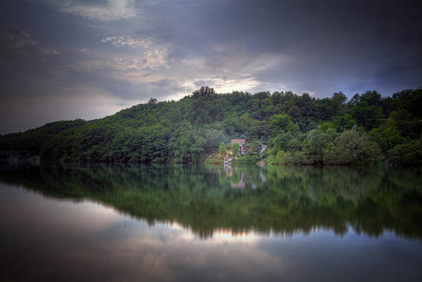 Ticino Photograph - River House by Joana Kruse