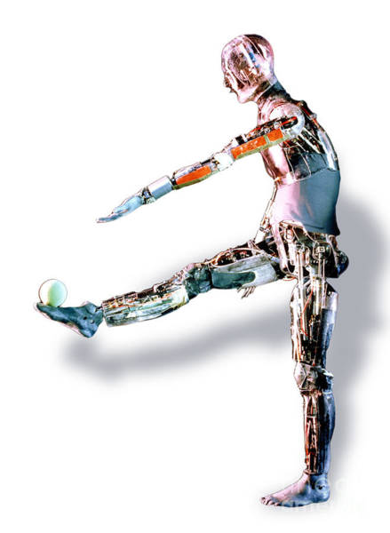 Photograph - Robot Mannequin by DOE  Science Source