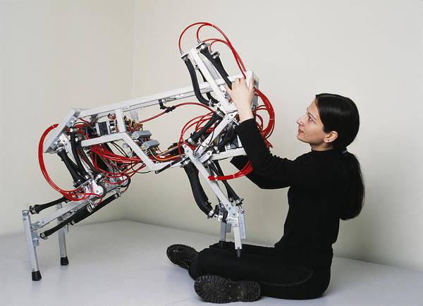 Dog Walker Photograph - Robotic Dog by Volker Steger