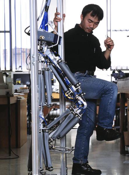 Biomimetics Wall Art - Photograph - Robotic Legs by Volker Steger