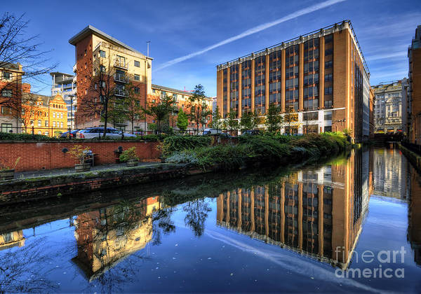 Greater Manchester Wall Art - Photograph - Rochdale Canal Manchester by Jason Connolly