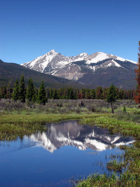 Elevation Photograph - Rocky Mountains by Olivier Le Queinec