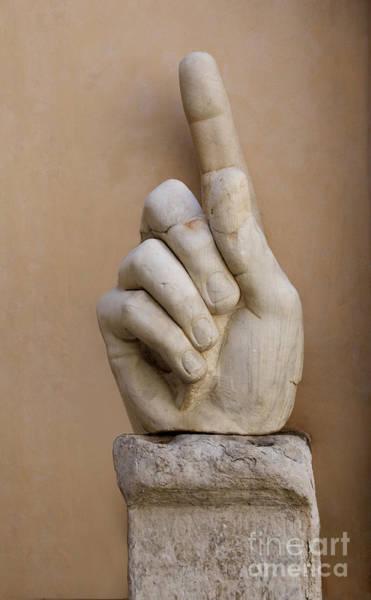 Index Photograph - Rome Italy. Capitoline Museums Emperor Marco Aurelio by Bernard Jaubert
