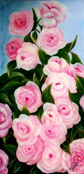 Painting - Roses In Full Bloom by Joni McPherson