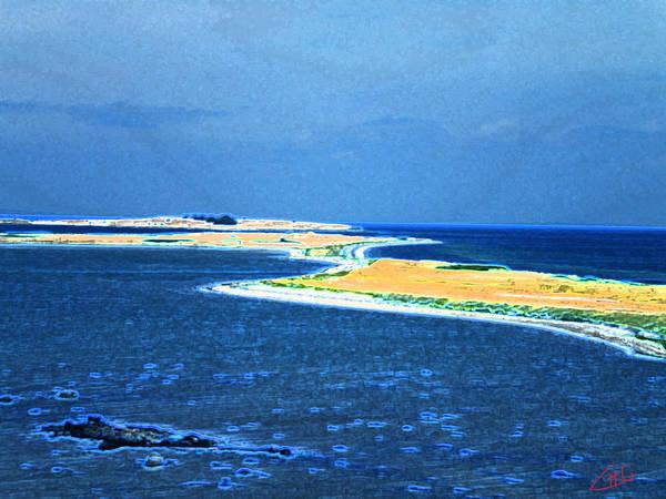 Painting - Samsoe Island Denmark  by Colette V Hera  Guggenheim
