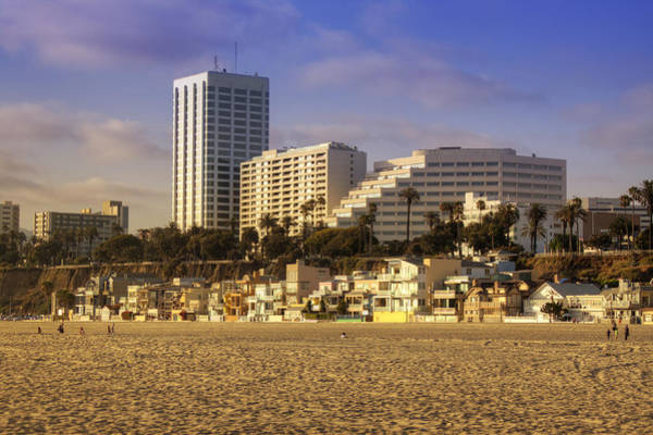 Wall Art - Photograph - Santa Monica by Ricky Barnard