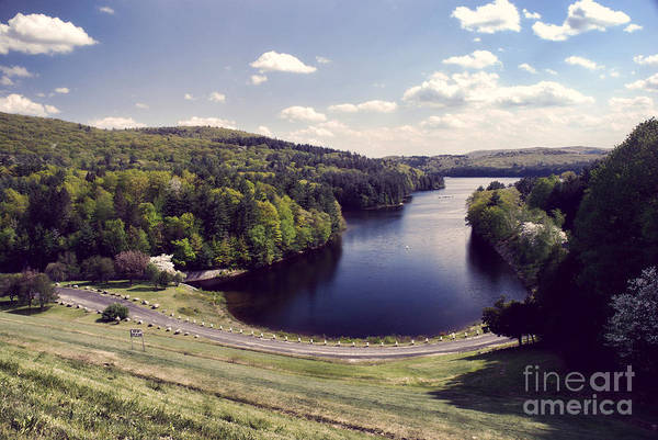 Wall Art - Photograph - Scenic Of Barkhamsted Reservoir by HD Connelly