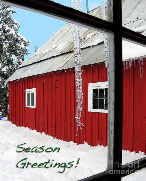 Photograph - Season Greetings by Bill Thomson