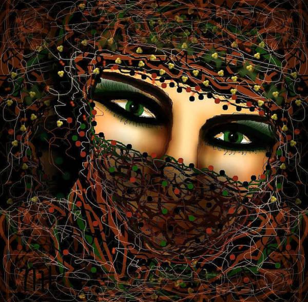 Thread Mixed Media - Seductive by Natalie Holland
