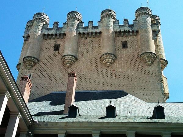Photograph - Segovia Alcazar Castle Knights V In Spain by John Shiron