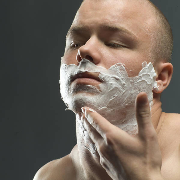 Softening Photograph - Shaving Foam by Coneyl Jay
