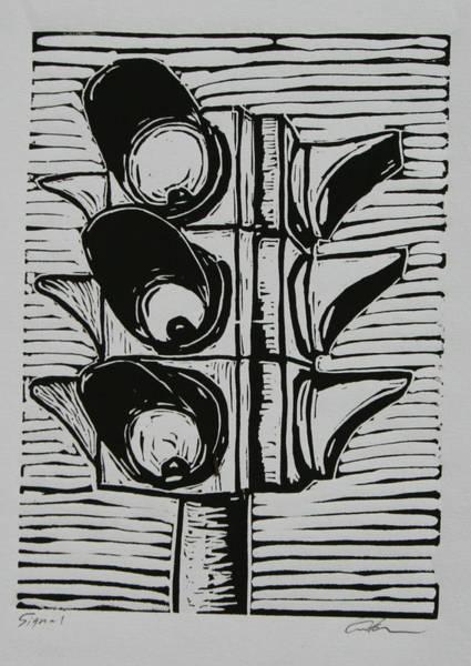 Signal Art Print