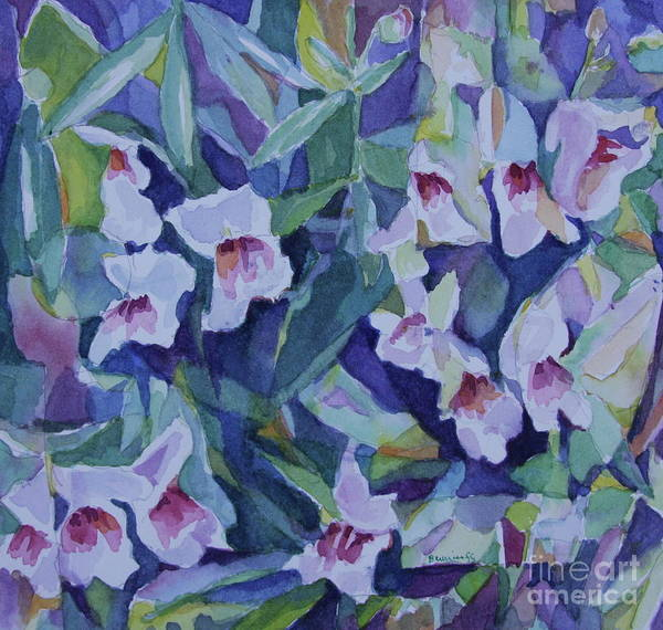 Snapdragons Painting - Snap Dragons by Jan Bennicoff