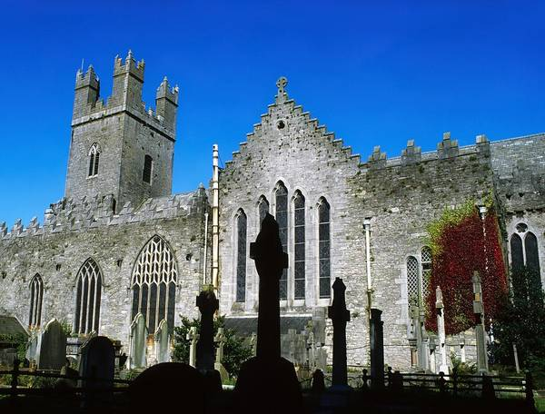 Historical Marker Photograph - St Marys Cathedral, Co Limerick, Ireland by The Irish Image Collection
