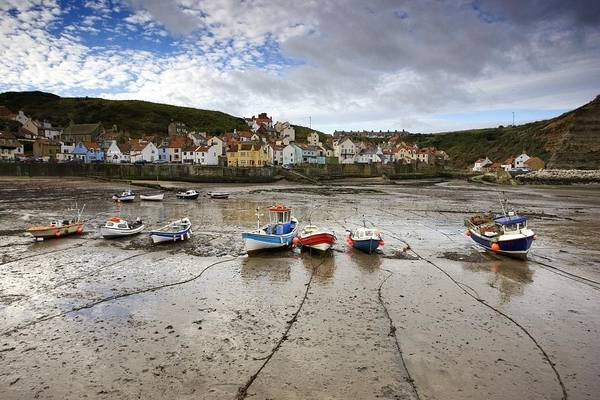 Abode Photograph - Staithes, North Yorkshire, England by John Short