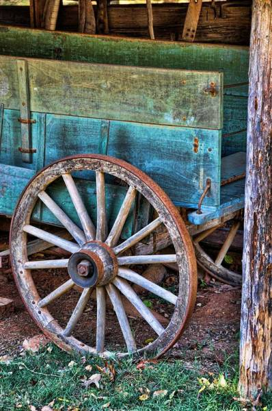 Wagon Wheel Photograph - Standing The Test Of Time by Jan Amiss Photography