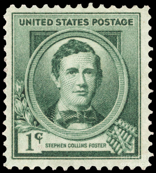 Collin Photograph - Stephen Collins Foster by Granger