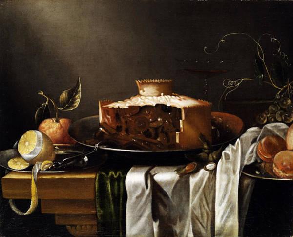 Wall Art - Painting - Still Life by Abraham van Calraet