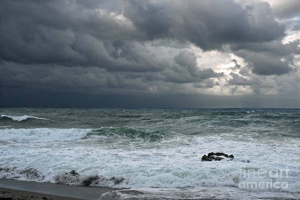 Photograph - Stormy Waters by Richard Nickson