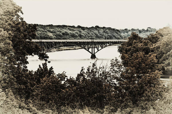 Strawberry Hills Wall Art - Photograph - Strawberry Mansion Bridge From Laurel Hill by Bill Cannon