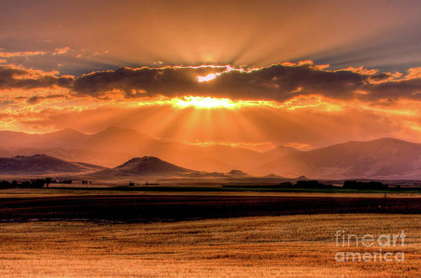 Photograph - Sun Sets On Summer by Katie LaSalle-Lowery