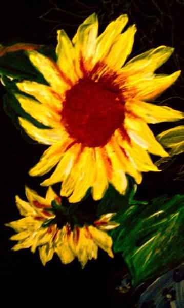 Wall Art - Painting - Sunflower by Gloria Warren