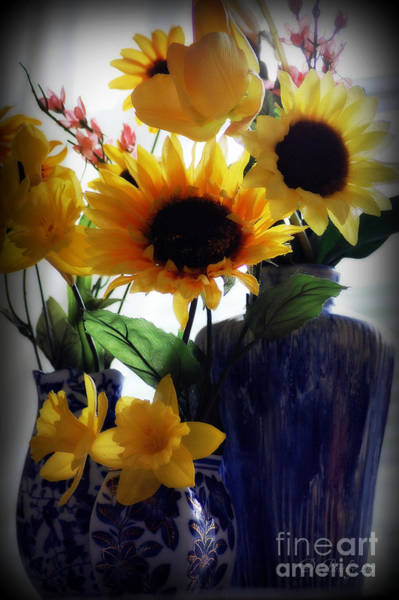Photograph - Sunflowers by Donna Bentley