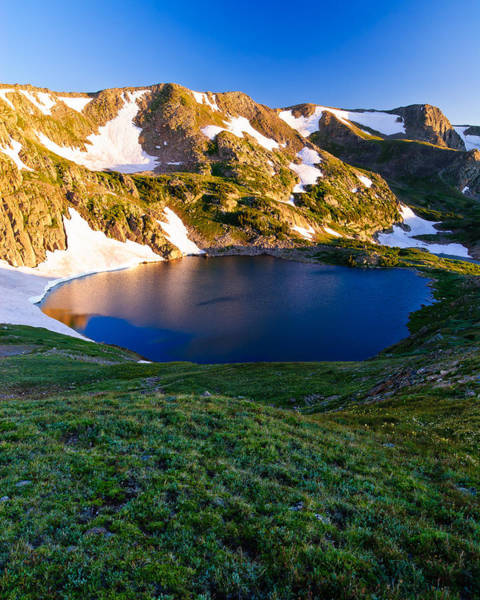 Indian Peaks Wilderness Photograph - Sunrise At King Lake by Doug Andrews