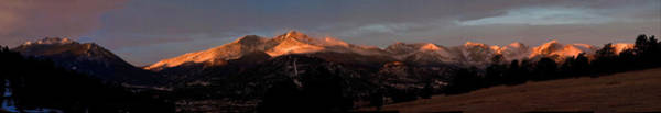 Wall Art - Photograph - Sunrise On Long's Peak by G Wigler