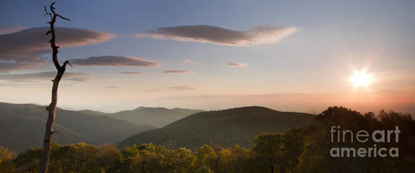 Wall Art - Photograph - Sunrise Over Shenandoah National Park by Dustin K Ryan