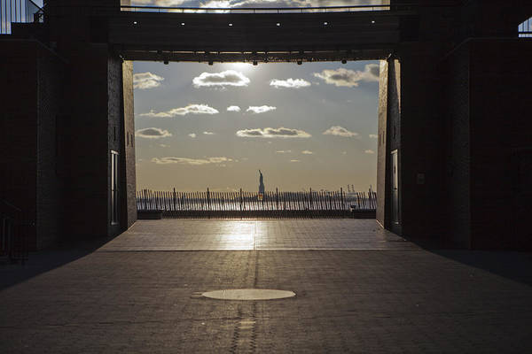 Photograph - Sunset On Liberty by Theodore Jones