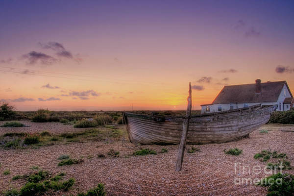 Wall Art - Photograph - Sunset Over Dungeness by Lee-Anne Rafferty-Evans