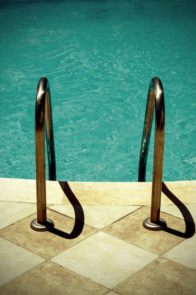 Ladders Photograph - Swimming Pool by Joana Kruse