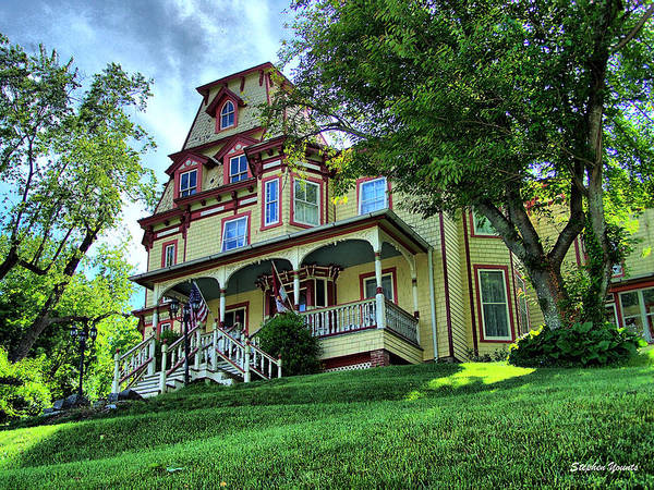 Wall Art - Photograph - Sykesville House by Stephen Younts