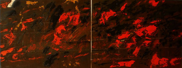 Wall Art - Painting - Symphony No. 8 Movement 13 Vladimir Vlahovic- Images Inspired By The Music Of Gustav Mahler by Vladimir Vlahovic