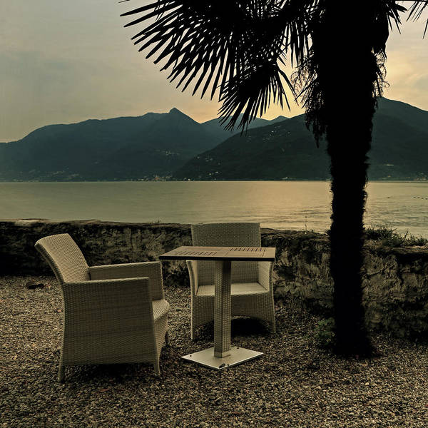 Lake Maggiore Photograph - Table And Chairs by Joana Kruse