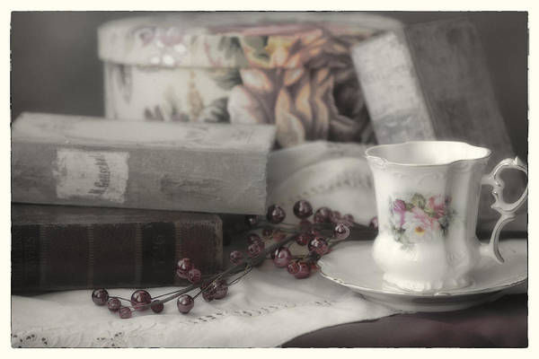 Claude Monet Photograph - Tea And Gulliver by Linda Dunn