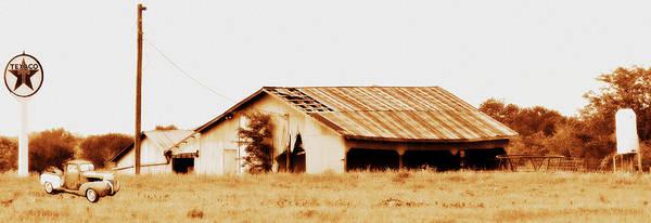 Photograph - Texaco by Elizabeth Hart