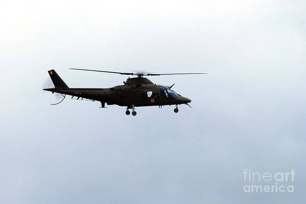 Agustawestland Photograph - The Agusta A-109 Helicopter by Luc De Jaeger