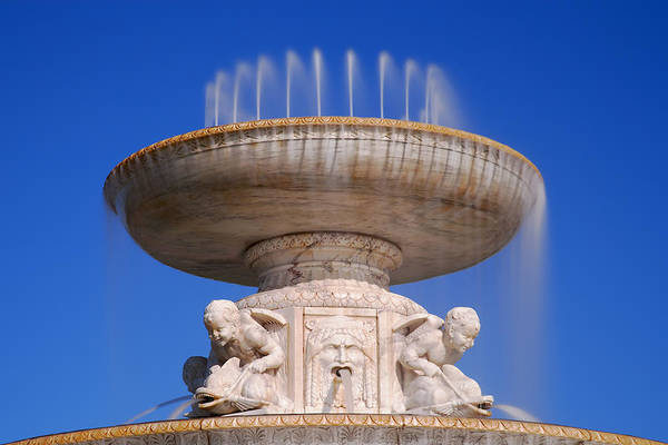 Lee Filters Wall Art - Photograph - The Belle Isle Scott Fountain by Gordon Dean II