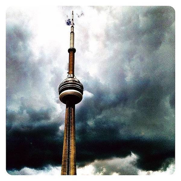 Wall Art - Photograph - The Canadian National Tower by Natasha Marco