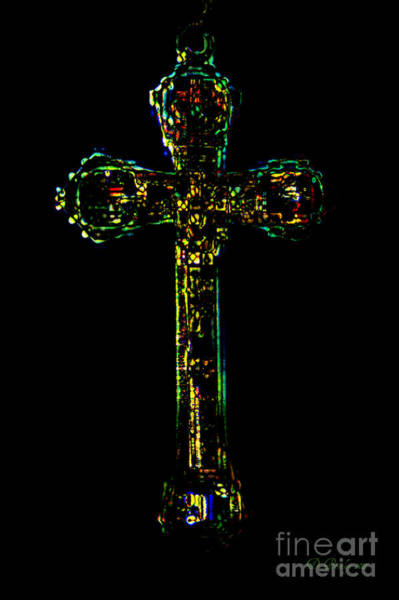 Photograph - The Cross by Donna Bentley