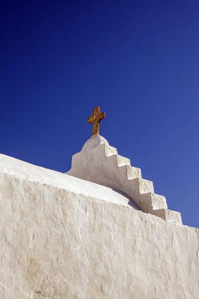 Greece Photograph - The Cross by Joana Kruse
