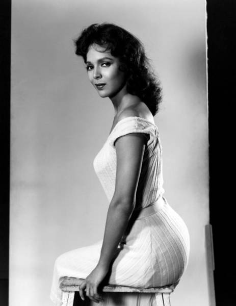 1958 Movies Photograph - The Decks Ran Red, Dorothy Dandridge by Everett