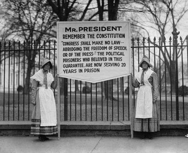 Amnesty Photograph - The Espionage Act Of 1917  And Sedition by Everett