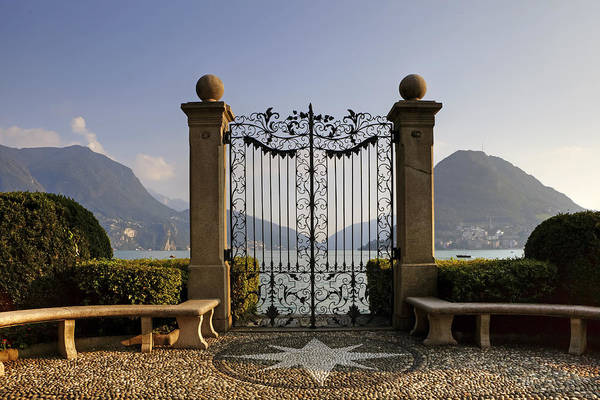 Ticino Photograph - The Gateway To Lago Di Lugano by Joana Kruse