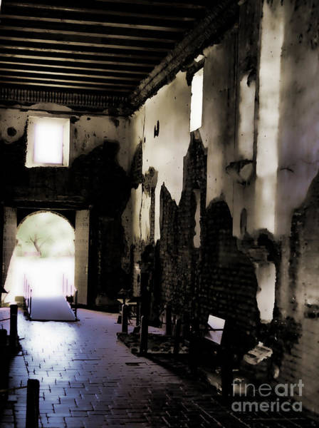 Photograph - The Ghostly Nave by Donna Greene